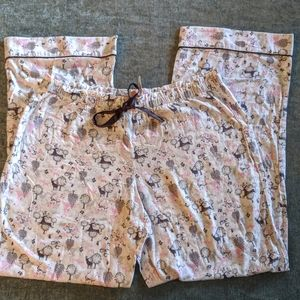Victoria's Secret Flannel Pajama Pants Large NWT